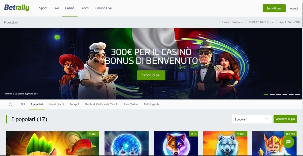 betrally_casino_home_page
