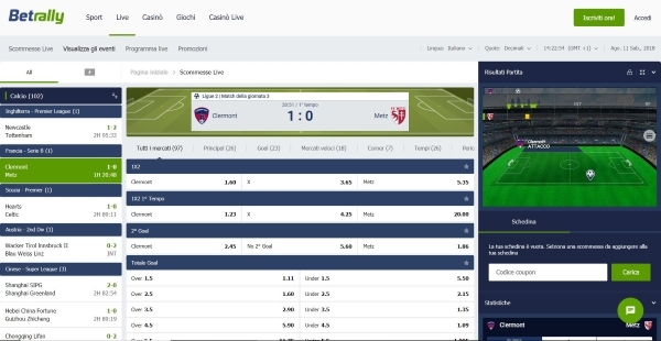 betrally_scommesse_live_home_page